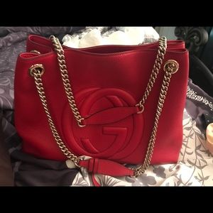Gucci sobo hobo chain bag